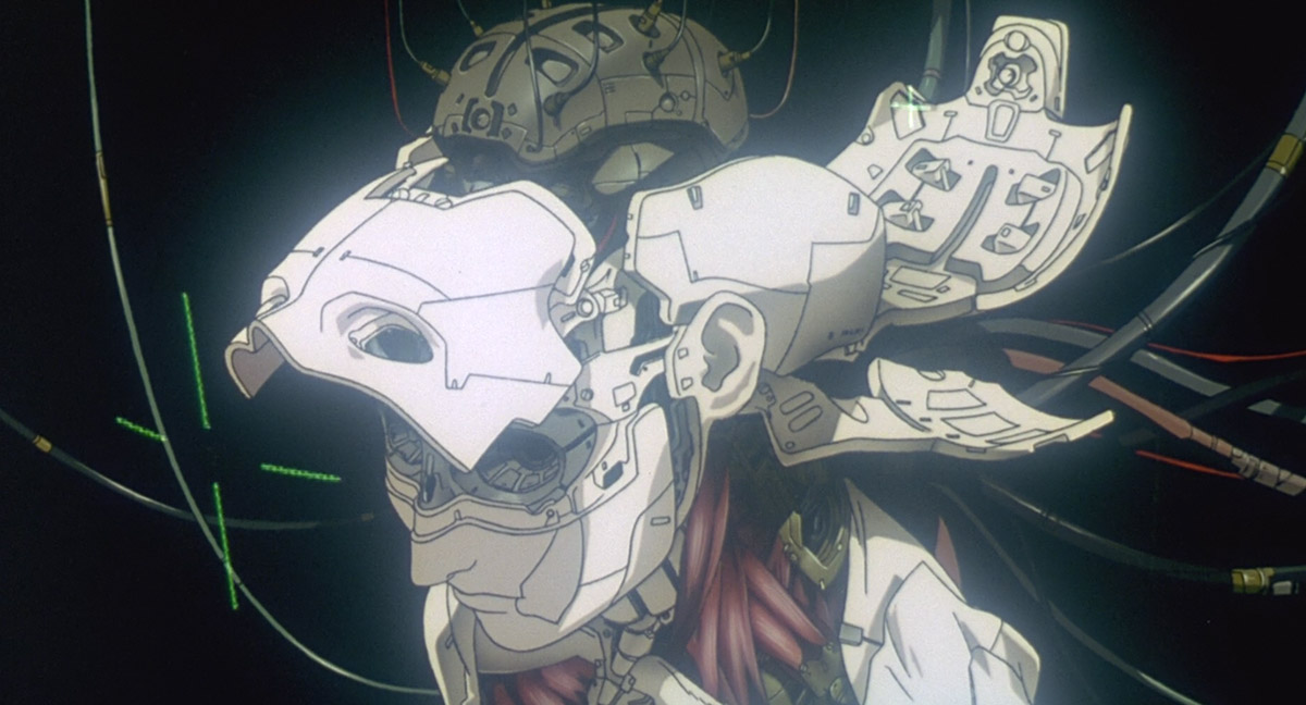 Still Frame From Ghost In The Shell