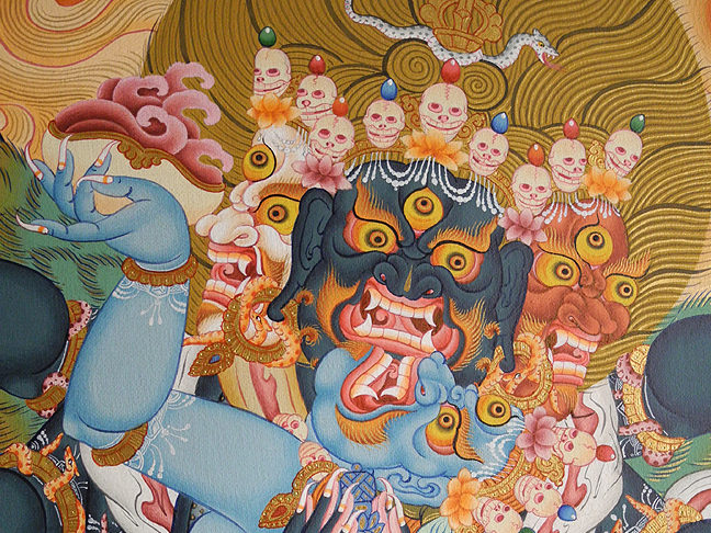 Wrathful Deities of the Bardo